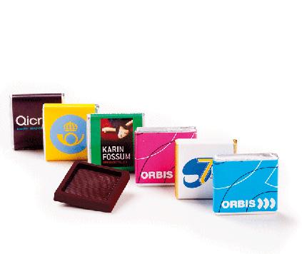 Chokladkvadrat Fairtrade