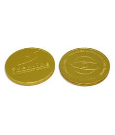 Chokladpengar med logo