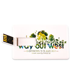USB-muisti Credit Card