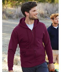 FRUIT Hooded Sweatshirt Zip