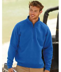 FRUIT Sweatshirt Zip Neck