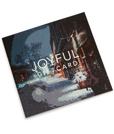 Joyful GiftCard - Exclusive - gåvokort