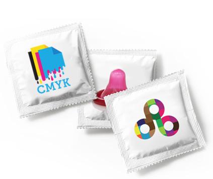 kondomer med logo