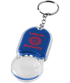 LED-nyckelring förstoringsglas