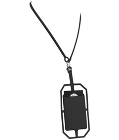 Rfid silikonkortficka med logoband