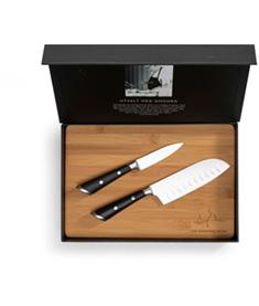 Mannerströms Knivset Med Skärbräda