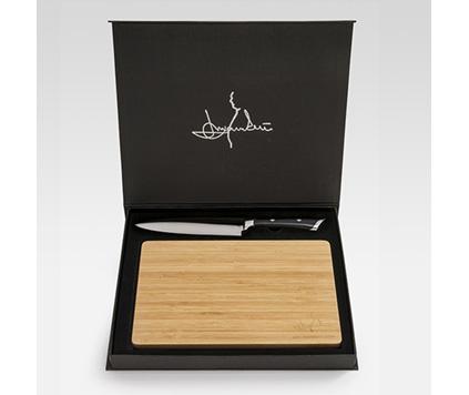 Mannerströms kockkniv med skärbräda