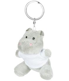 Nyckelring Flodhäst