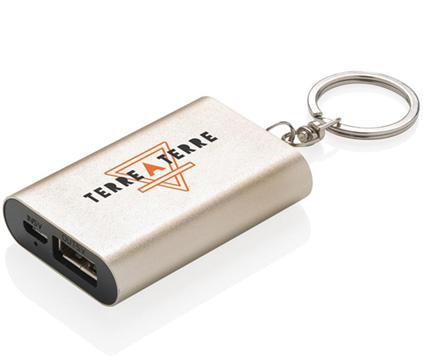 Powerbank Nyckelring