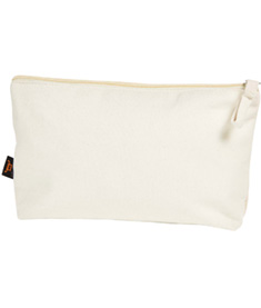 ORGANIC Zipper bag M