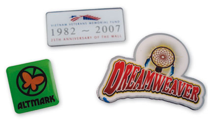 Pin Badges 25x25 mm