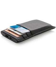 Plånbok med powerbank