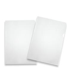 Plastmapp glasklar A4, pvc
