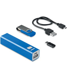 Powerbank och USB kit