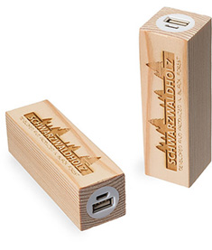 Powerbank Pine Square