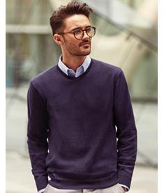 RUSSEL Stickad Pullover