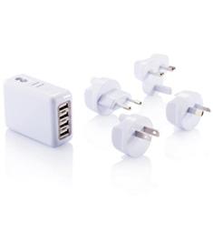 Reseadapter fyra USB-portar