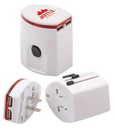 Reseadapter Smart med USB-uttag