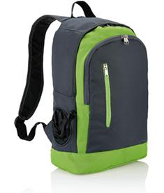 Ryggsäck med ficka för vattenflaska