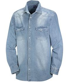 Jeansskjorta