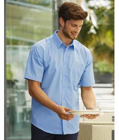 FRUIT Poplinskjorta kortärmad