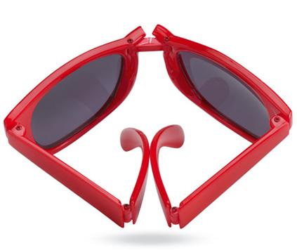 Ihopvikbara solglasögon