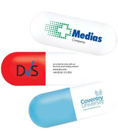 Stressboll Tablett