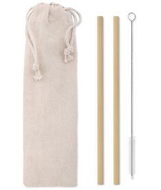 Sugrör i bambu