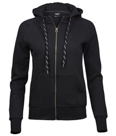 Ladies Fashion Full Zip Hood