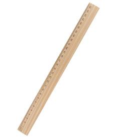 Trälinjal 30 cm