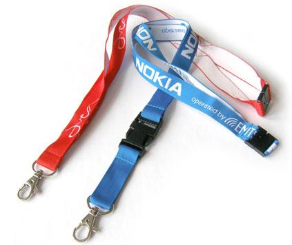 Vävt nyckelband 20 mm
